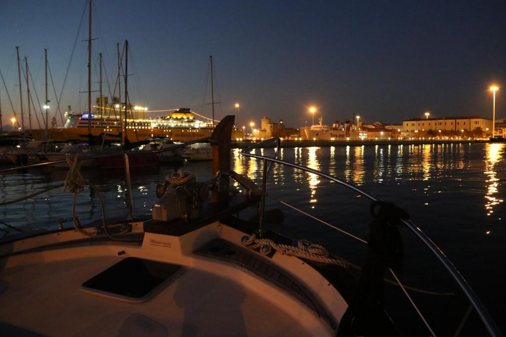 Sunset in Porto Livorno