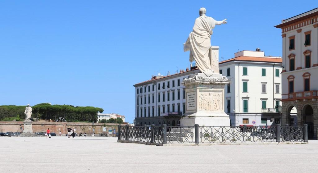 The statue of Grand Duke Ferdinand III on Piazza della Republica
