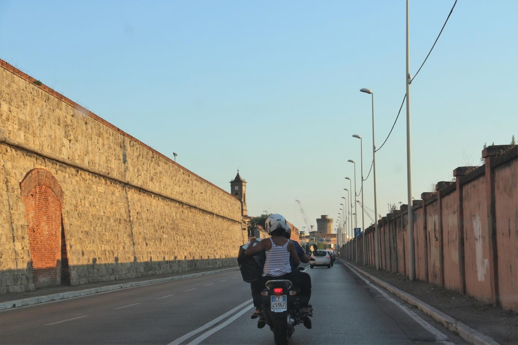 After our enjoyable trip we drive back to Livorno south of Pisa