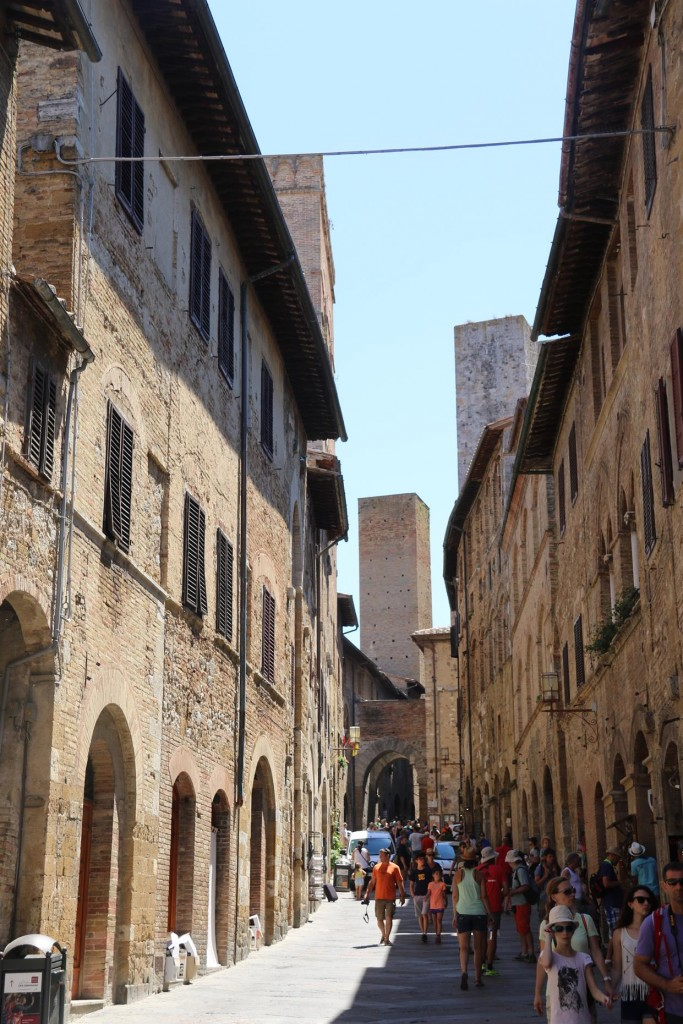 Today seems to be busy day in San Gimignano