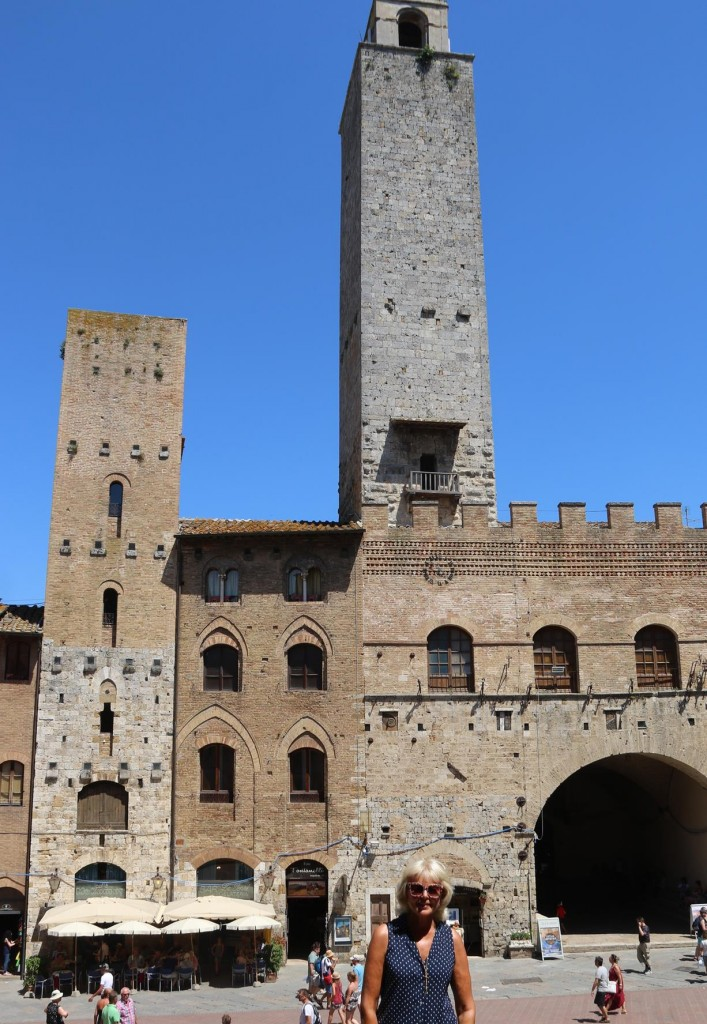 During the 14th Century there were around 72 towers in San Gimignanao