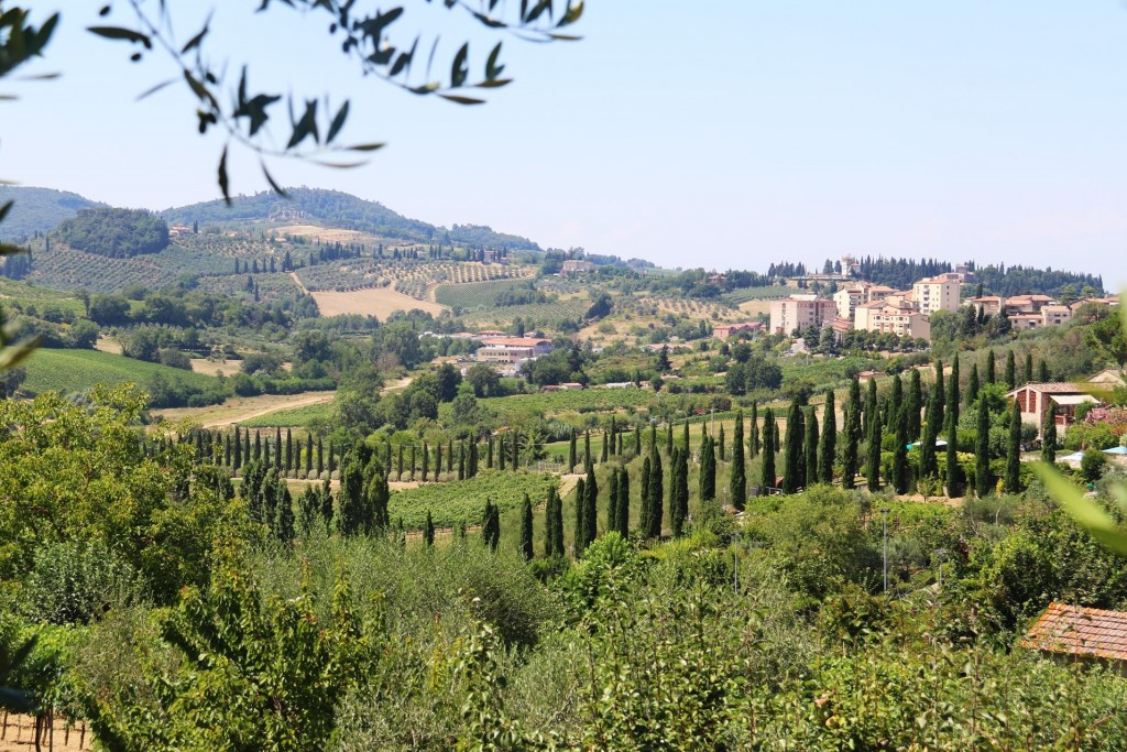 The countryside in Tuscany is quite exquisite