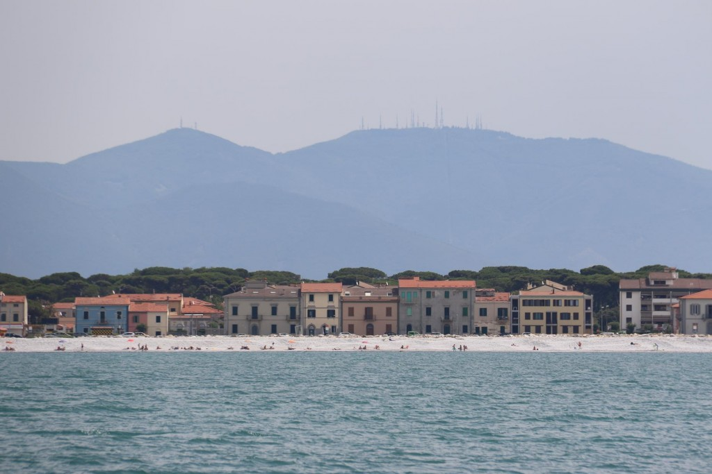 Marina di Pisa is only a short distance from Livorno