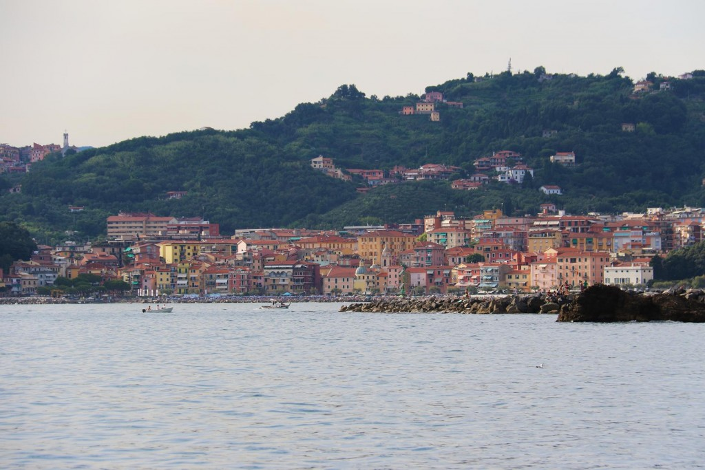 Just beyond the castle is the village of Lerici which has a true Tuscan feel