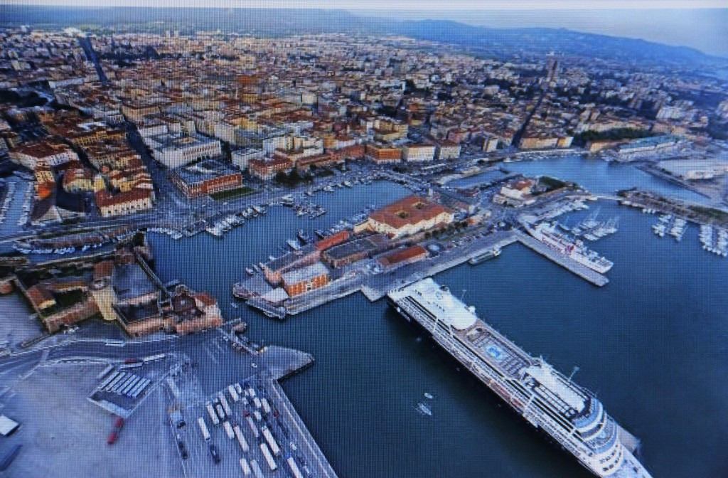 The Port of Livorno