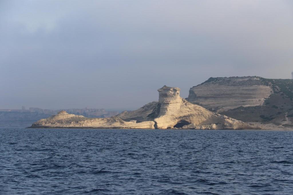 We pass Capo Pertusato the southern tip of the island