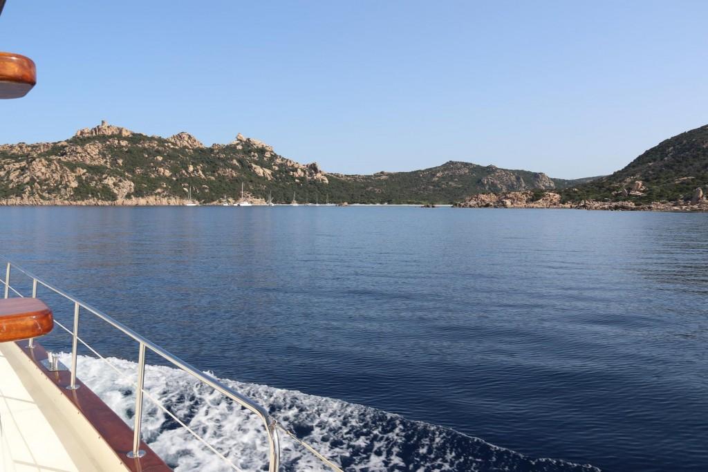 We approach Anse de Roccapina