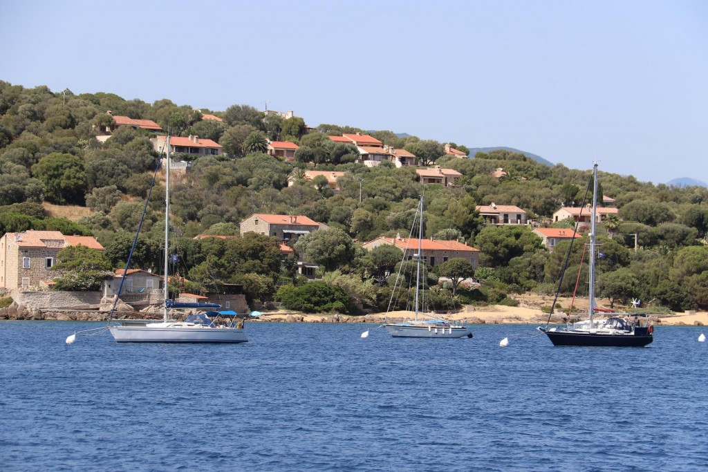 We arrive in the small town of  Porto Pollo which is the closest port to the ancient site of Filitosa