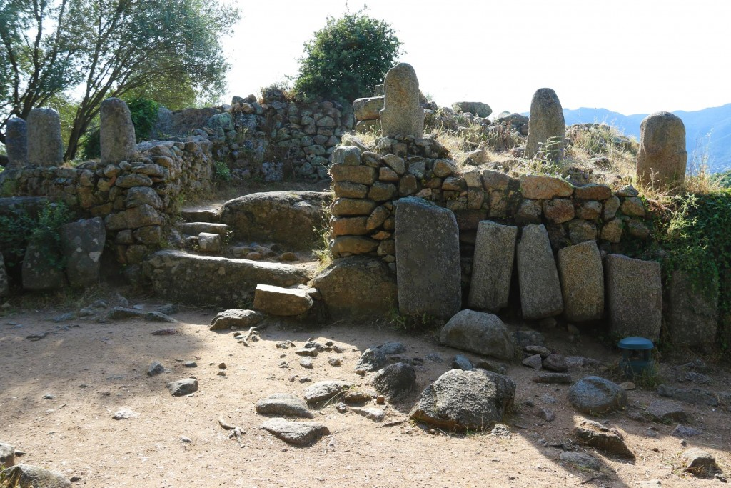 In the the Central Monument 6 important statue menhirs have been found and are dispayed there