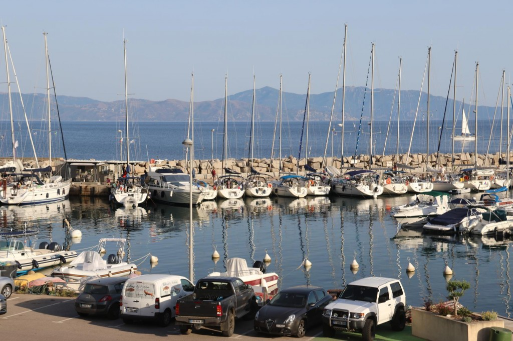 The Cargese Port