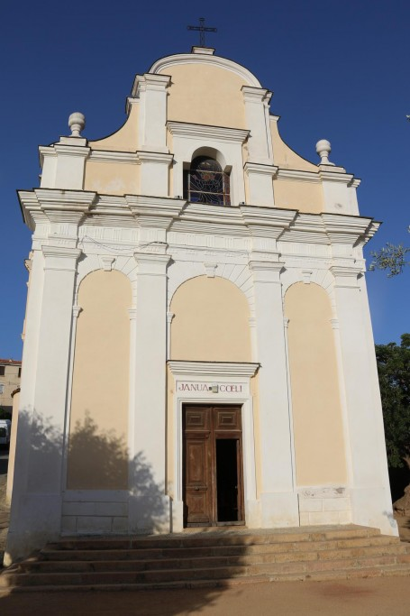 The Latin Church of the Assumption was the first church built in Cargese in 1825