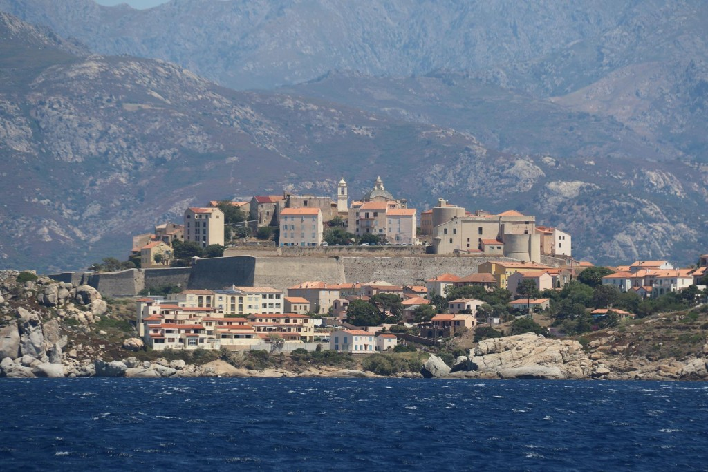 The stunning ancient walled town of Calvi