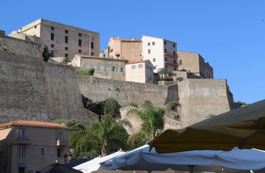 The Citadel which dominates the small town was built in 1268 by the Pisans
