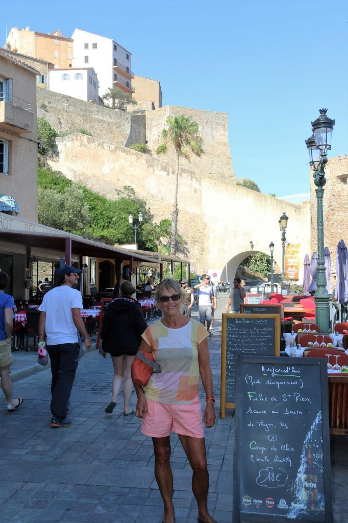 Michele and I set off for a walk around the old town