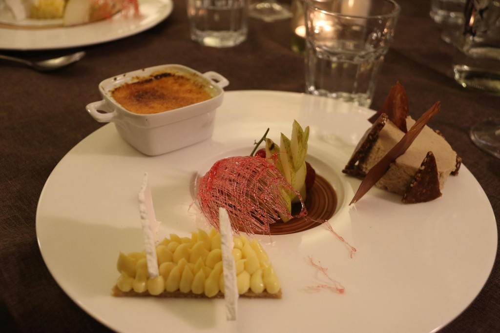 La Grande Dessert!! A wonderful way to sample a few of the incredible choices!!