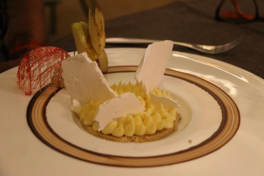Michelle loved her lemon tart