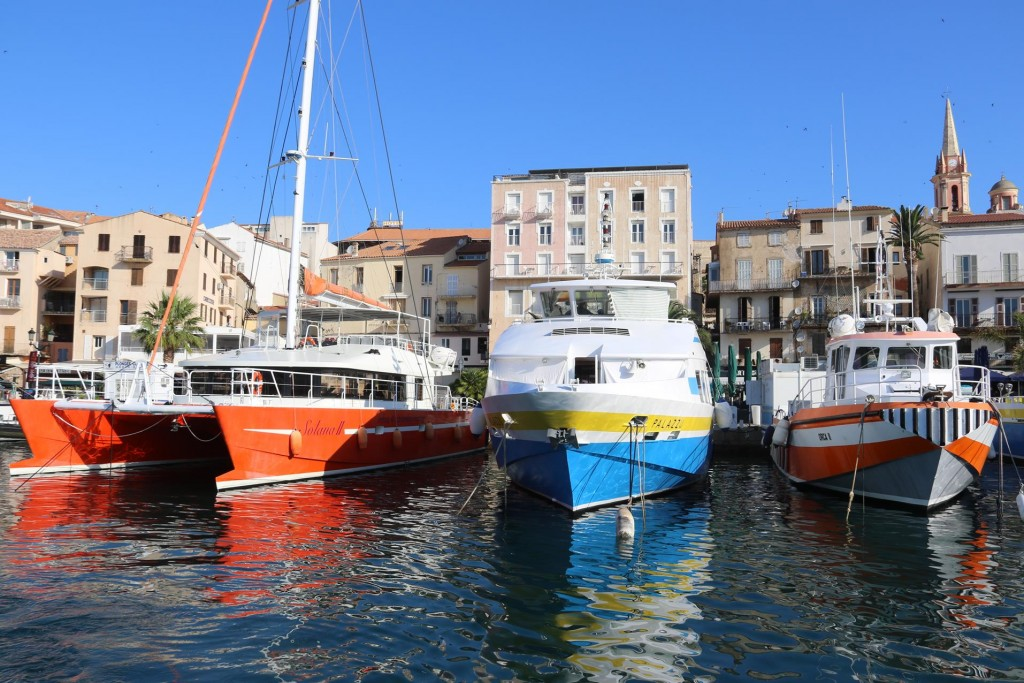 The day tripper boats will once again be going out now the mistral has abated
