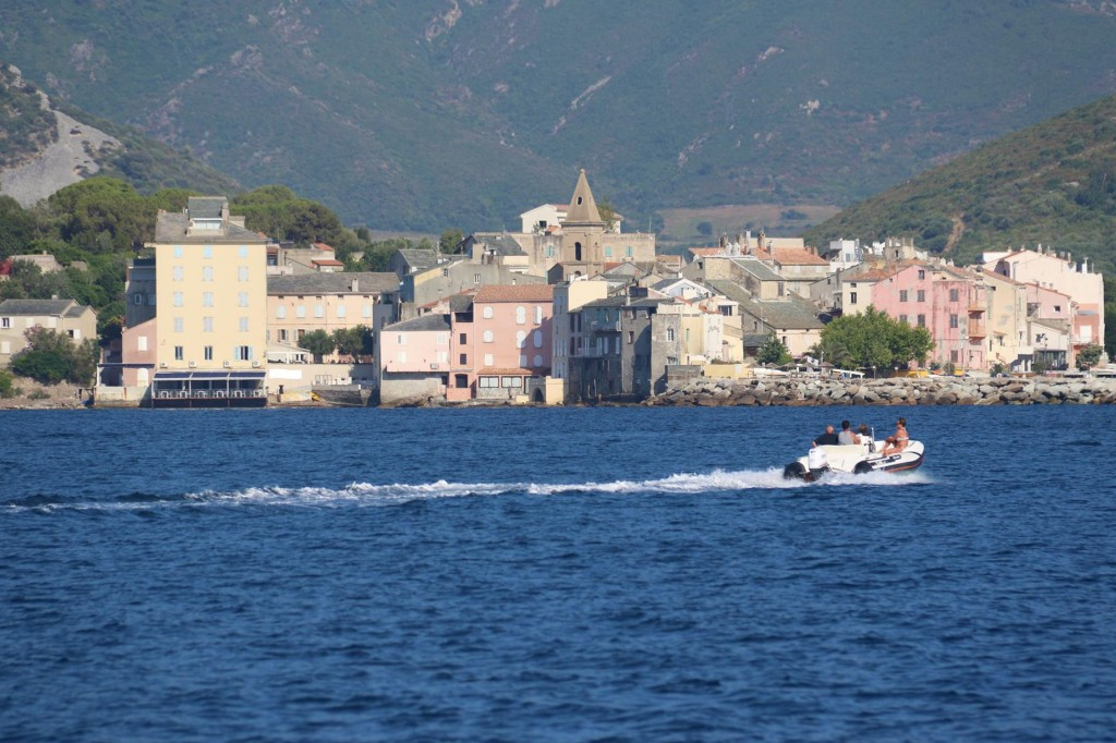 Once we had another swim we made our way to the nearby town of St Florent