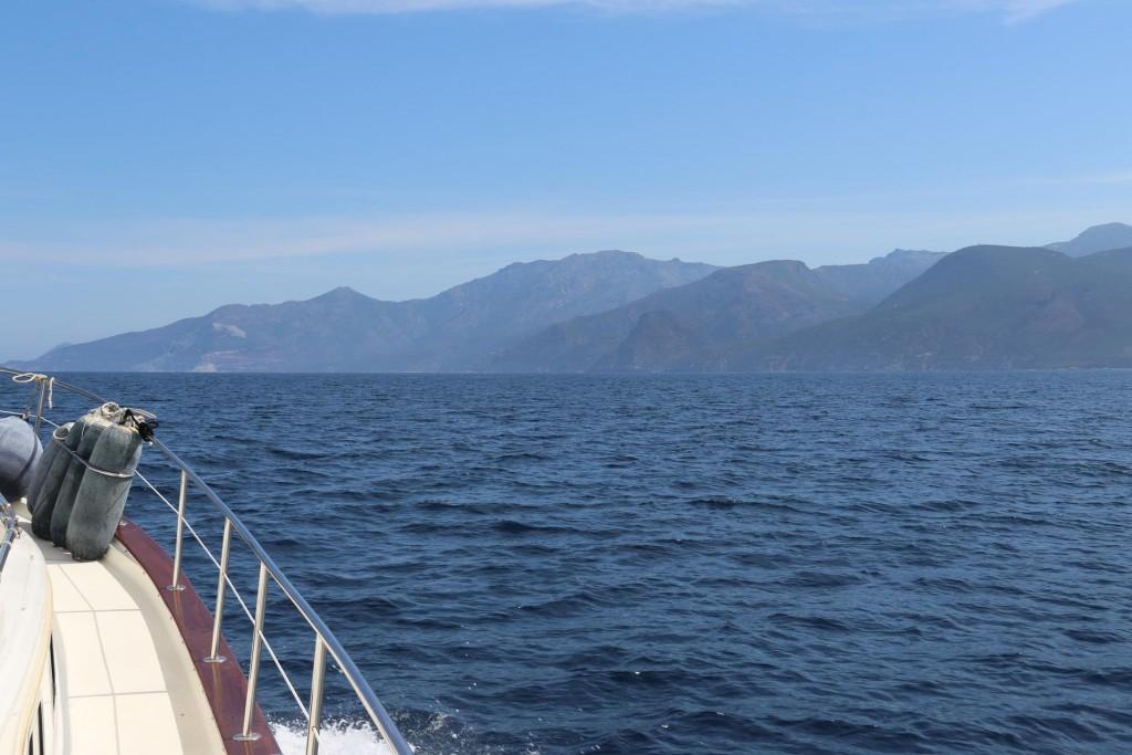 Continuing north up the coast of Cap Corse