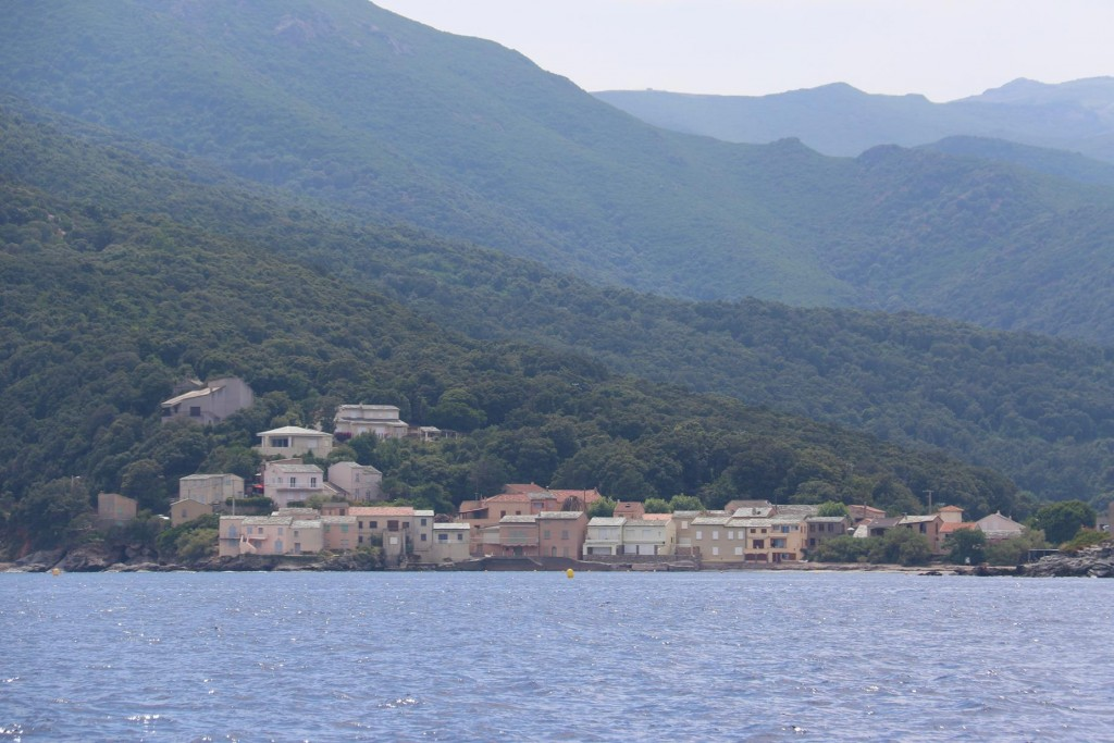 We pass several small coastal villages as we head south