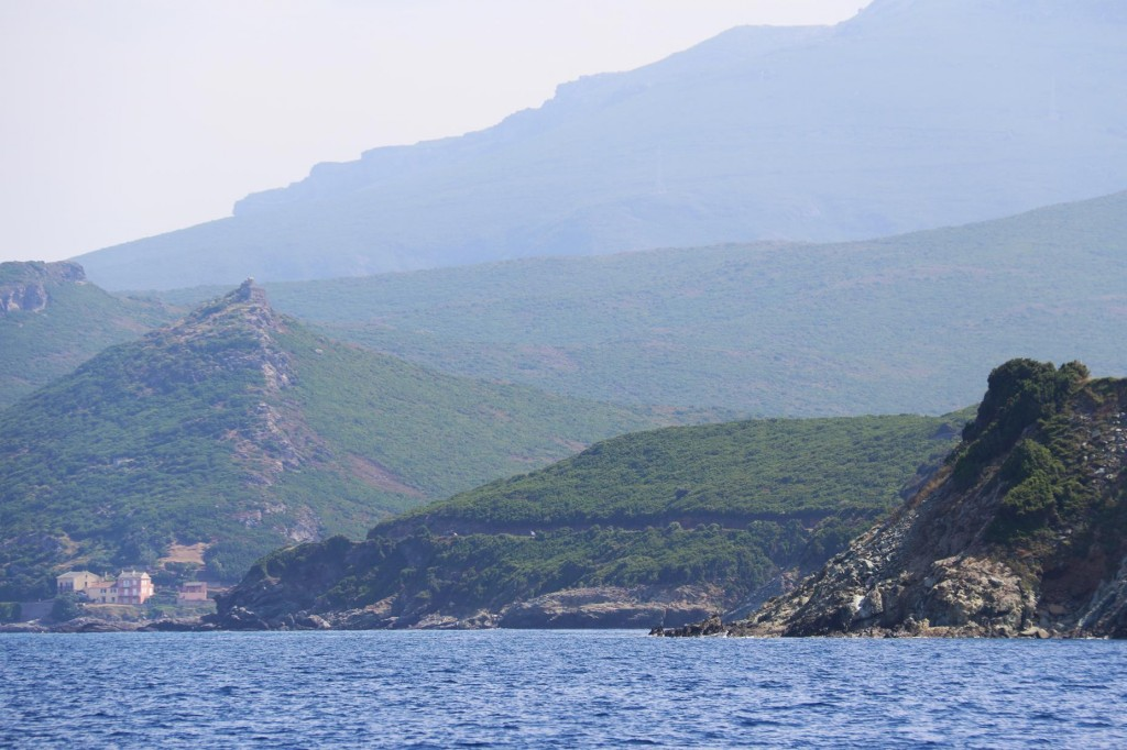 With only a few kilometers between the west and east coasts of Cape Corse, it is incredible how different the topography is