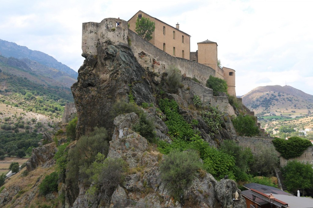 The fortress perched on a rock high above the town attracts many tourists everyday
