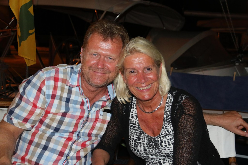 We had a lovely evening chatting to newly married Gensen and Gisela from Germany