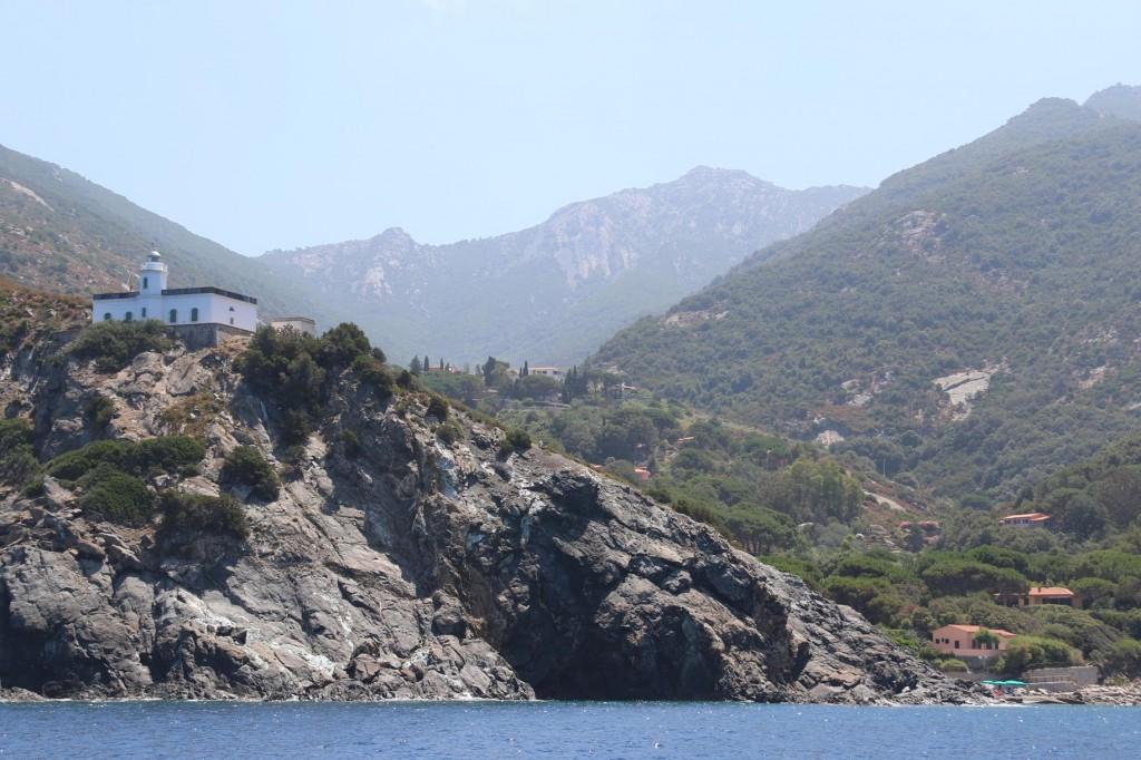 Punta Polveraia is the western point of Isola D'Elba