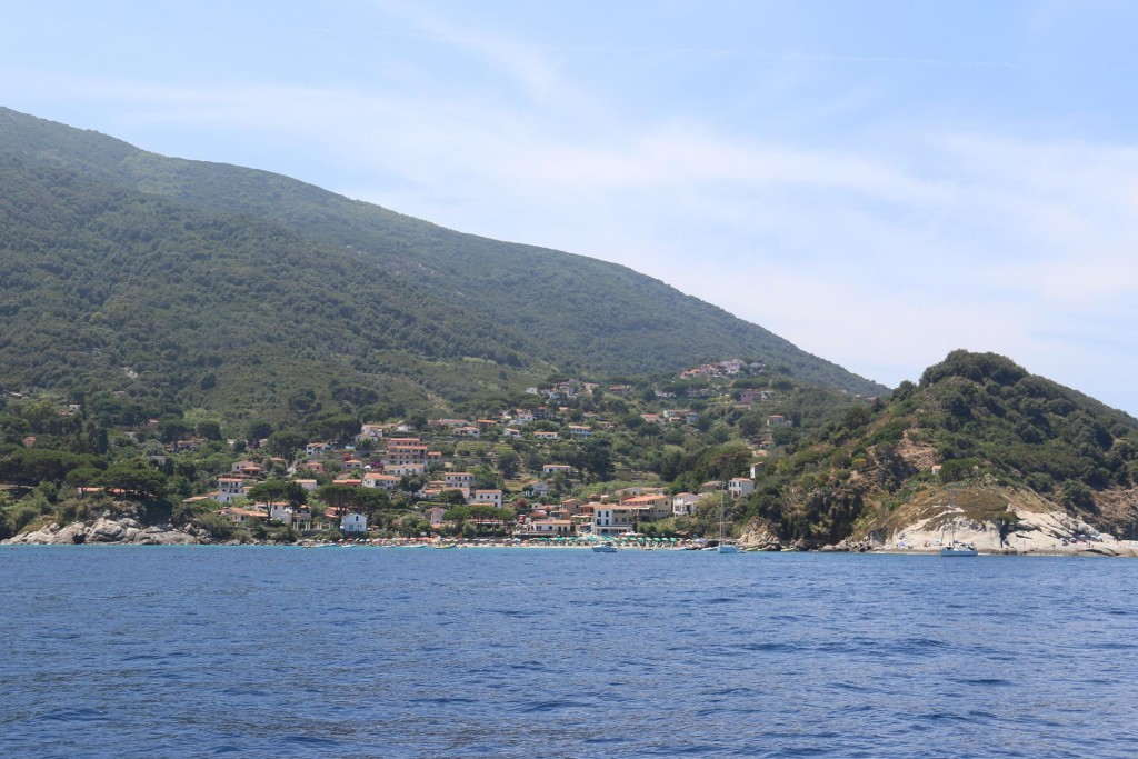 In the past, San Andrea was a commercial port where the prized Elban wines were embarked