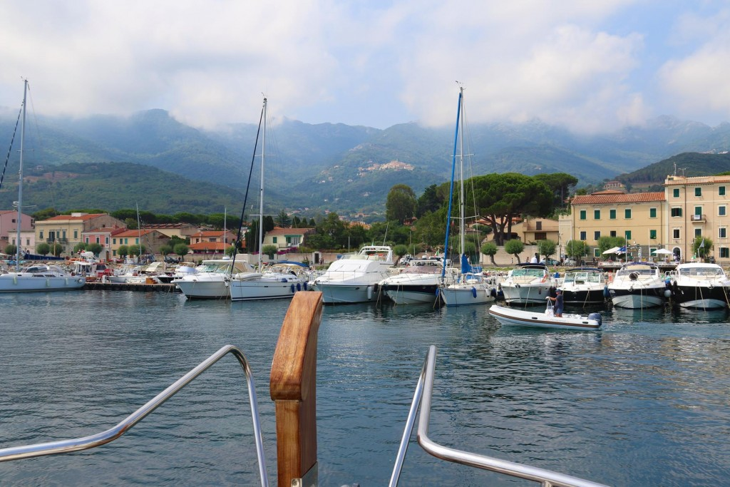 This morning we take a long walk around Marciana Marina before the heat of the day