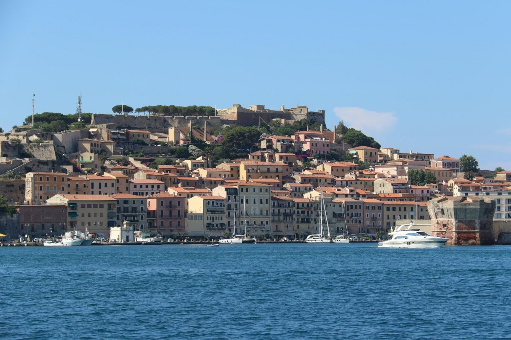 Once again we arrive back to see the lovely town of Portoferraio