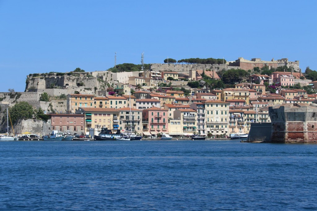 Last year we visited Portoferraio in September on our way to Corsica and Sardinia