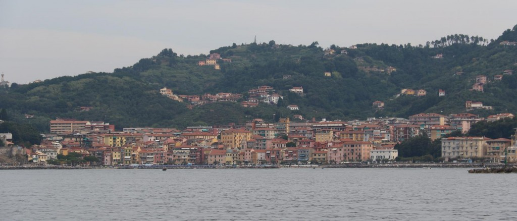 Lerici is a popular place to stay when visiting the Cinque Terre