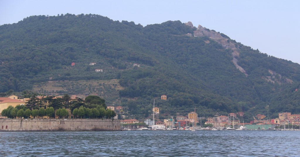 A popular anchorage for visiting yachts is Le Grazie which is in the south west of Spezia harbour