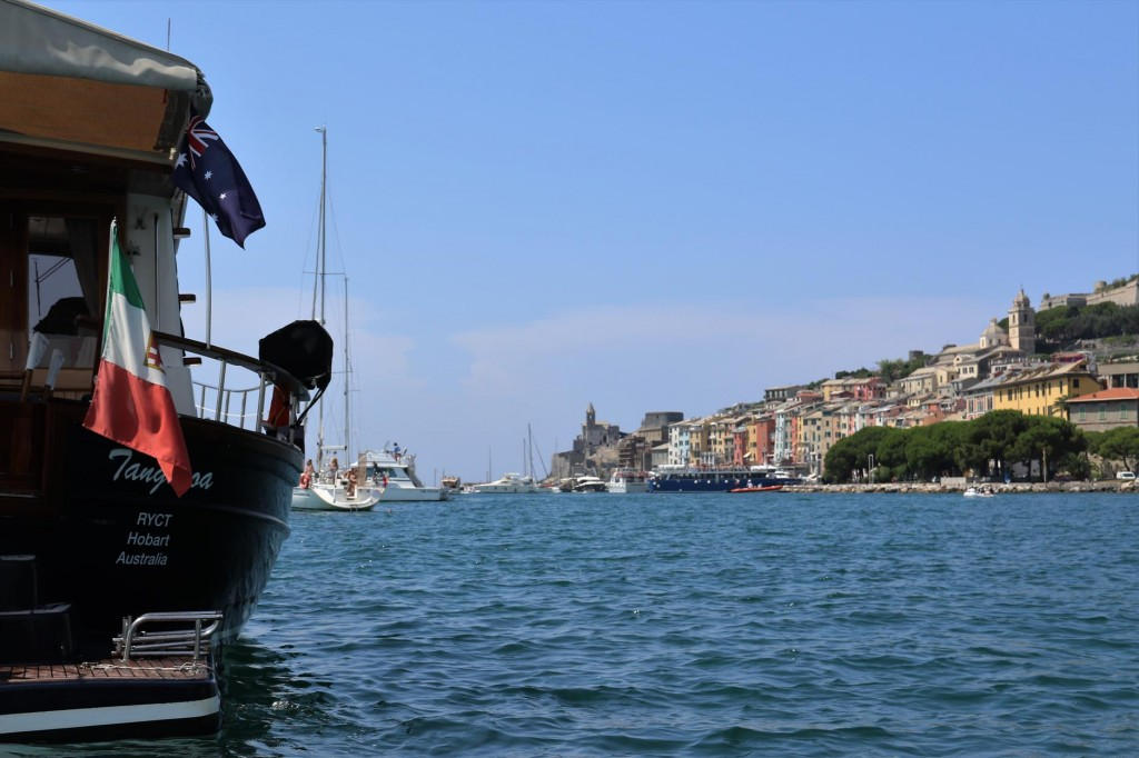 We head ashore to visit Portovenere for the 3rd time (2003 & 2010)
