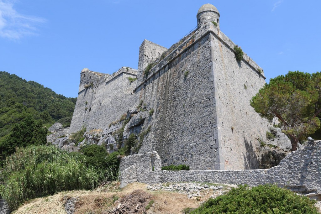 The Andria Doria Castle was built by the Genoese in 1161 from local stone