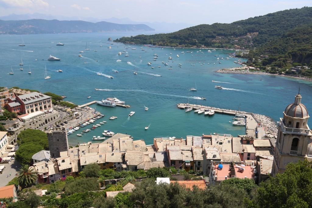 Overlooking Portovenere and Poets Gulf