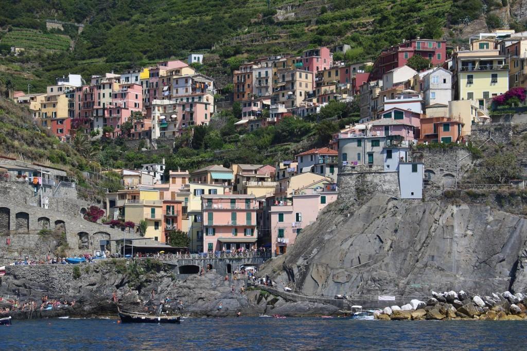 The 2nd village of the Cinque Terre is Manarola