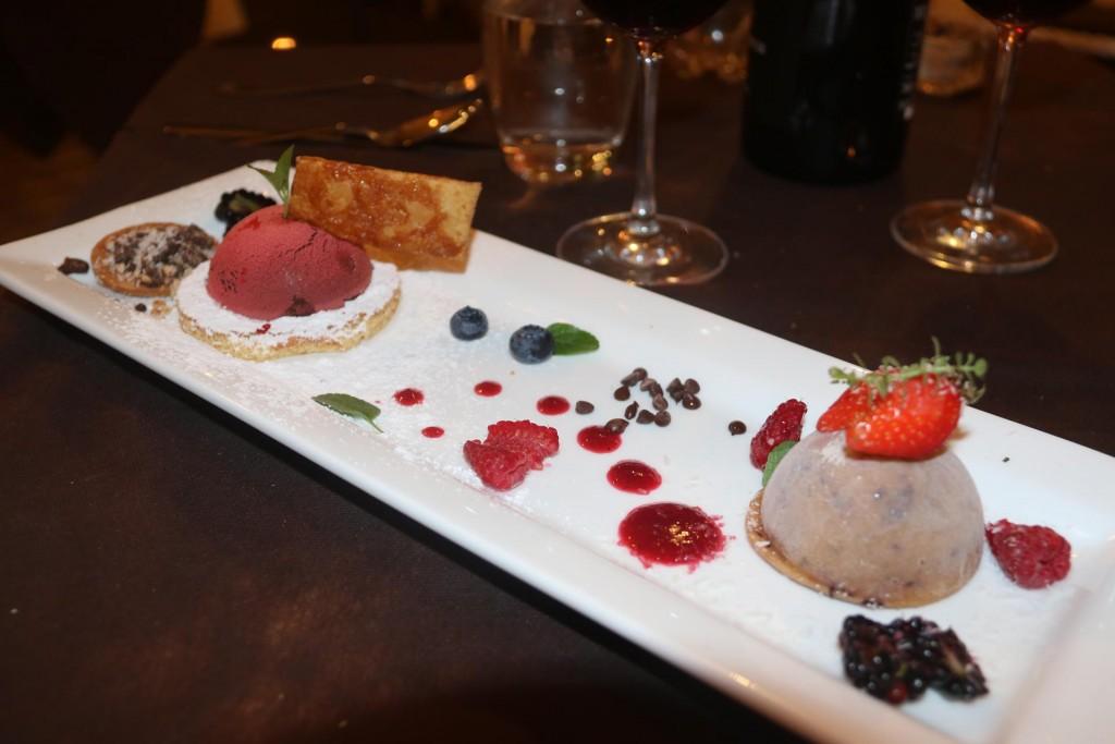 We share a fabulous icecream dessert
