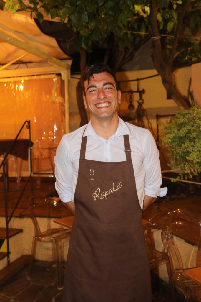A very friendly waiter welcomed us in Rapala Ristorante