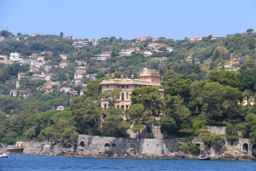 There are some amazing villas in this part of the Italian Riviera