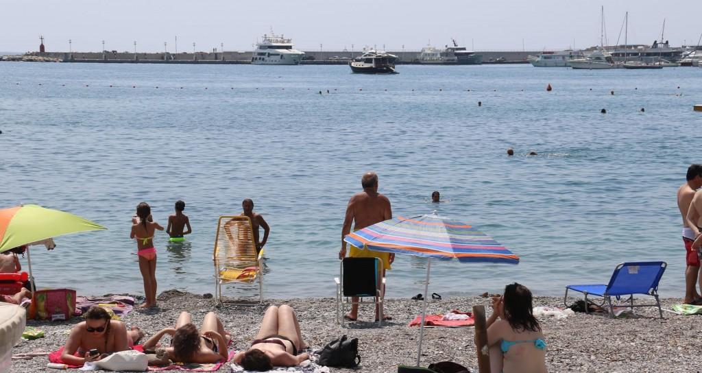 Tangaroa in Santa Margherita harbour