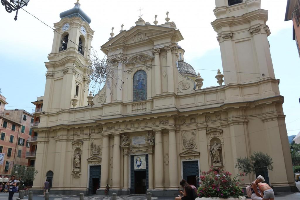 The Catholic church, Santa Margherita d'Antiochia in Piazza Caprera