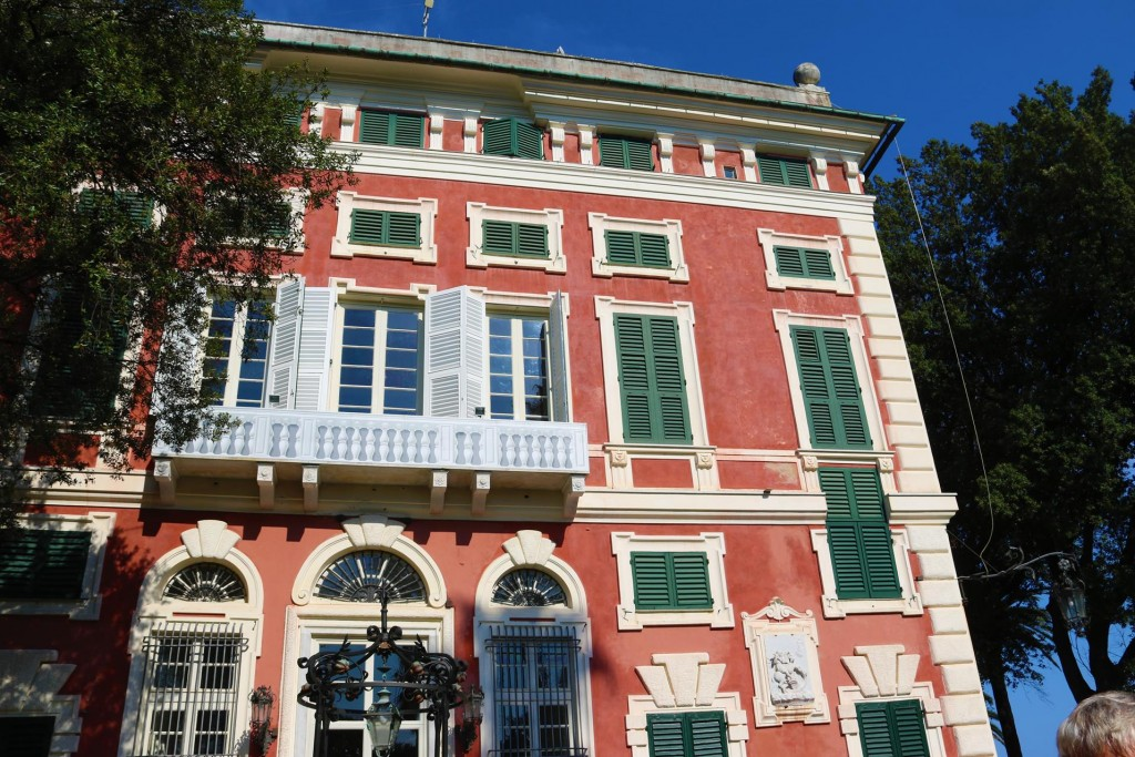 Villa Durazzo was built in 1678 as a summer house for the wealthy Durazzo family
