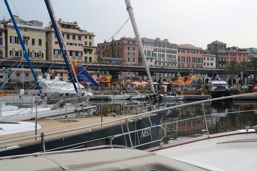 We are very pleased with the wonderful position we have in the heart of Genoa