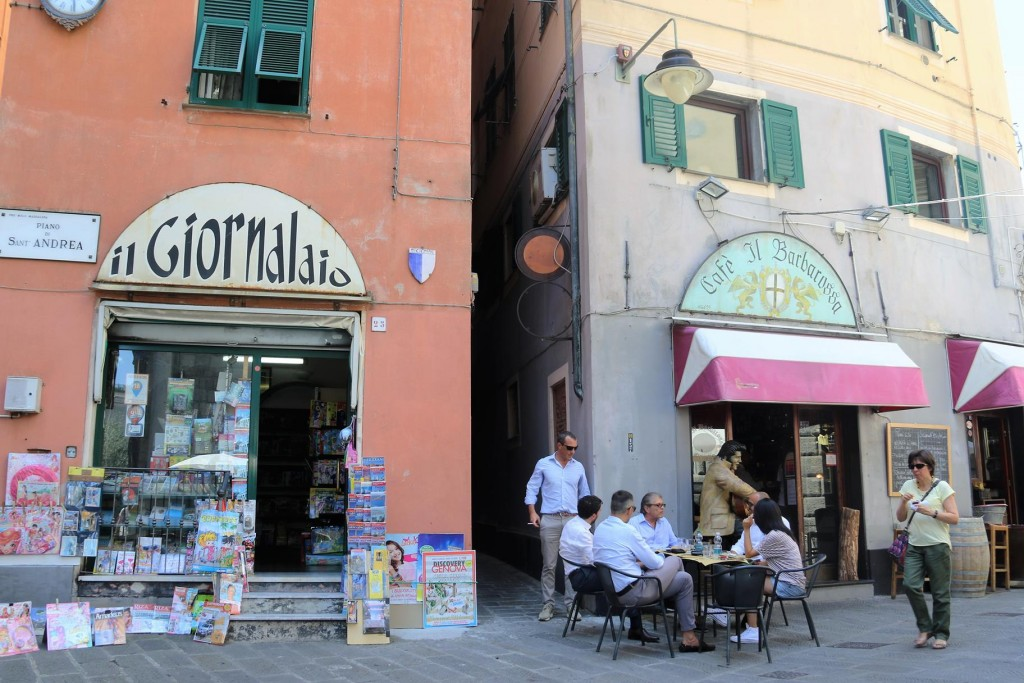 This is a wonderful old area of Genoa with lots of ancient narrow streets
