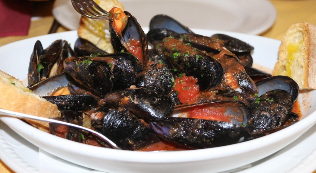 Mussels to share