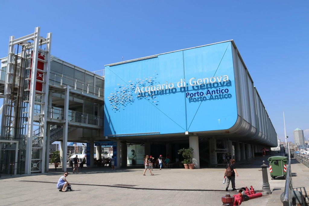 It is believed that the Acquarium of Genoa is the largest in Europe