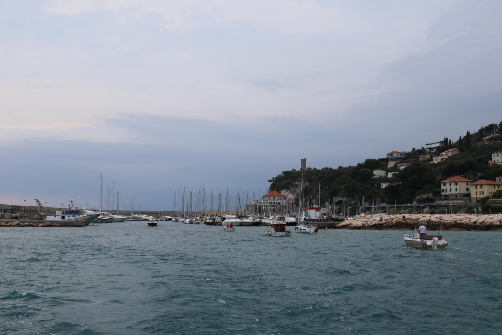 We tried to get a berth in the Finale Ligure port however nothing was available today