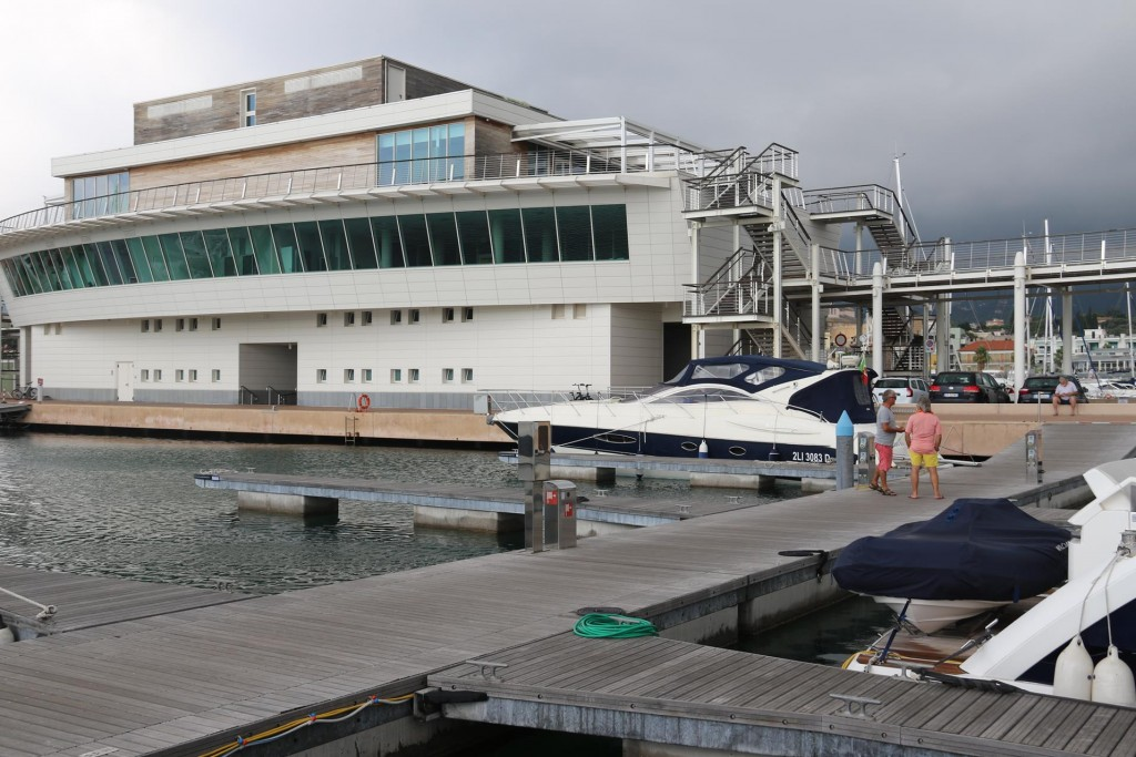 The redevelopment of the marina included a very smart club house, apartments, restaurants and marina services and many extra berths